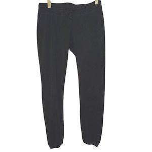 Lululemon black sweat pants size 4